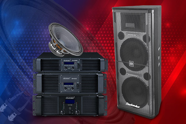 Studio Maker - PA & DJ Amplifier, Speakers and other Equipments manufacturer in India